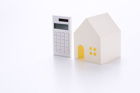 Concept of Housing loan Stock Photo