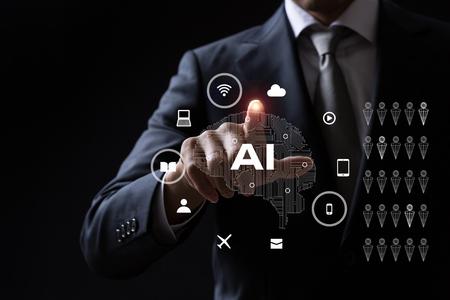 artificial intelligence concept Zdjęcie Seryjne