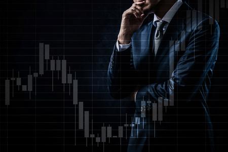 Concetto di investimento azionario