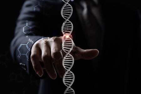 Concept of DNA Reklamní fotografie