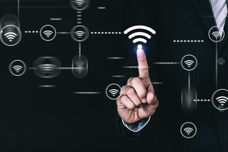 Concept of internet access Stok Fotoğraf