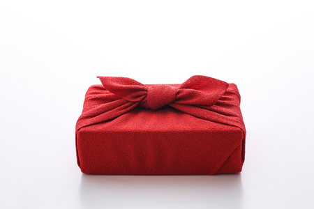 Furoshiki Wrapping Cloth Stock Photo