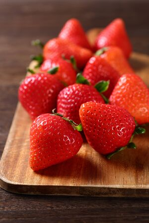 A lot of strawberries 写真素材