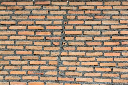 Red brick construction  photo