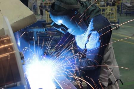 working welder Фото со стока - 14062298