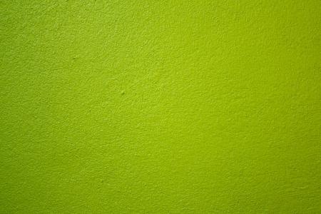 De muren zijn geschilderd groen Stockfoto