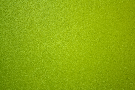 canvas on wall: The walls are painted green  Stock Photo
