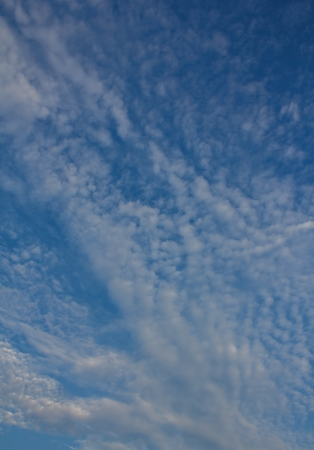 Sky, white clouds Stock Photo - 20775732