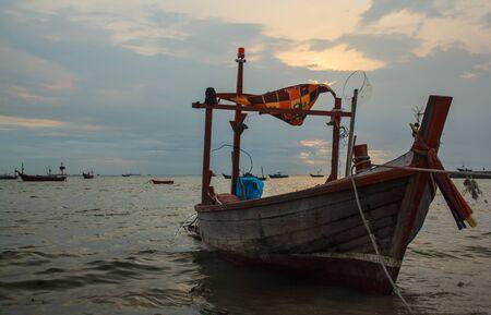 Small fishing boat. Stock Photo - 20775746