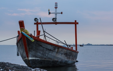 Small fishing boat. Stock Photo - 20775747