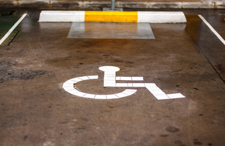Signs for people with disabilities
