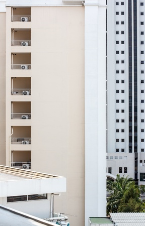 upper floors of a tall apartment house Stock Photo - 21453075