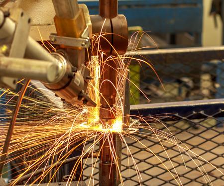 steel workers: Industrial welding automotive in thailand