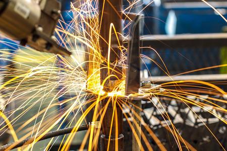 Industrial welding automotive in thailand Фото со стока - 33970875