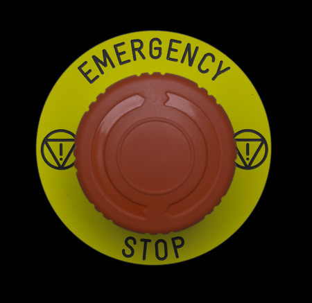 interrupt: Emergency stop button, Disaster protection