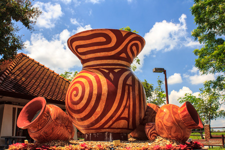 souvenir Oude Aardewerk, Ban Chiang Stockfoto