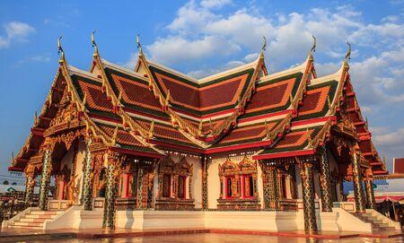 chum: Temple Phra That Choeng Chum in thailand