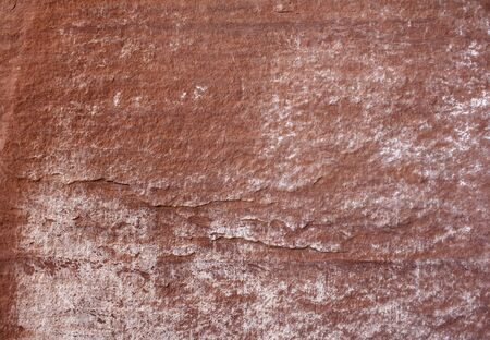 red stone: Red stone plate with white grain Stock Photo