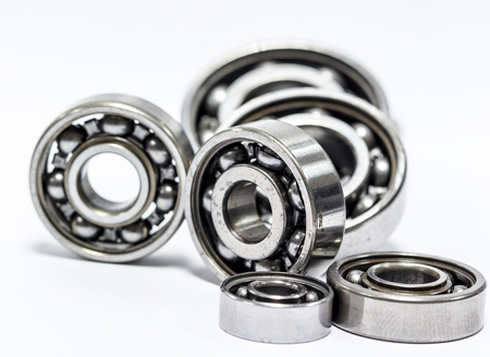 bearing: The ball bearing isolated on white background.