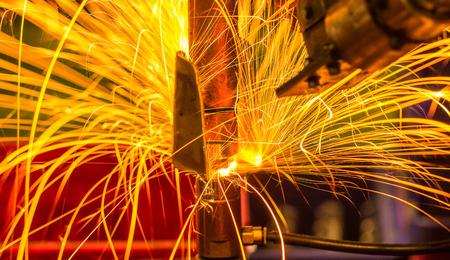 Licht op de link automotive puntlassen Industrial