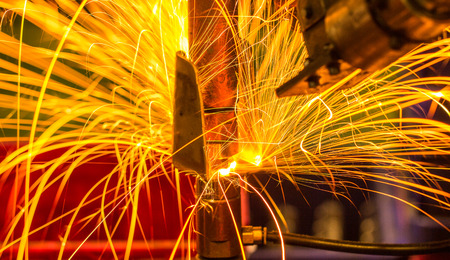 Light on link automotive spot welding Industrial