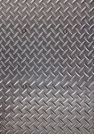 shiny metal background: Dotted metal plate. Shiny steel. Metal background.