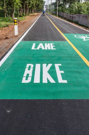 safer: Dedicated bicycle lanes, designed to make cycling safer