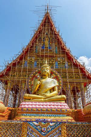 act of god: The Golden colossof Buddhism in Thailand Temple