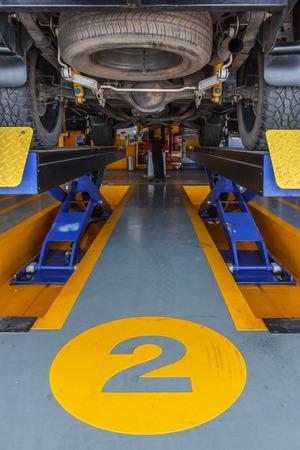 lifts maintenance vehicles maintenance car in garage