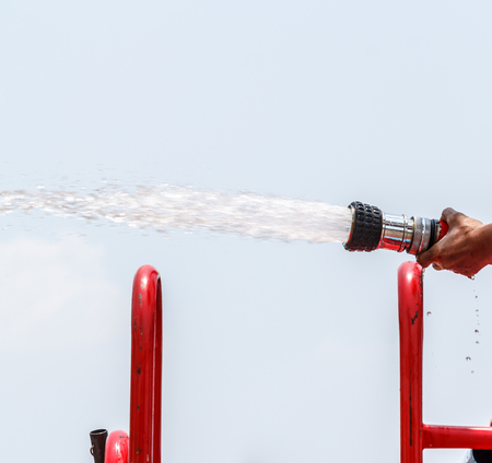capita: Capita per water during fire ready to use in the outdoor.
