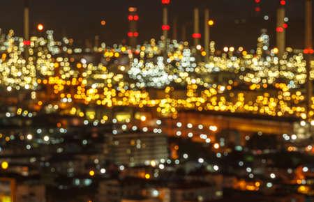 source of light: The Dark background bokeh of a beautiful night. Stock Photo