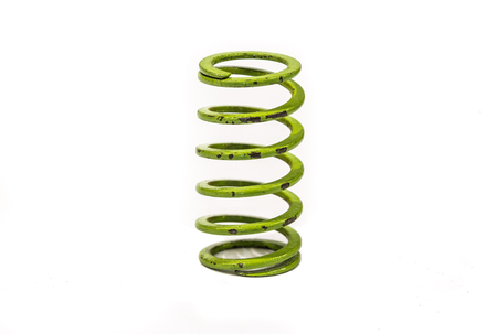 Springs spiral small industry in white background
