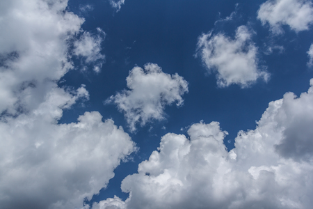 The Clouds and sky landscapes is very beautiful Foto de archivo