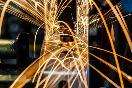 Industrial welding automotive in thailand (welding, industry, laser) Stock Photo