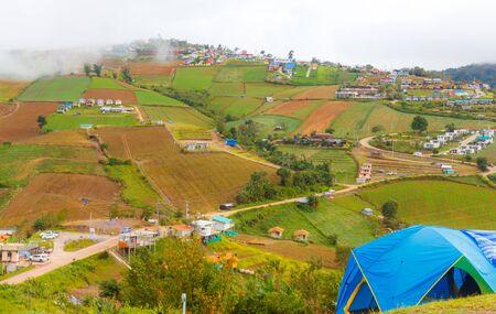 Mountain road at phu tubberk, Tourist Park, Phetchabun Attractions