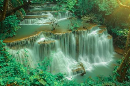 Huai Mae Khamin Waterfall ( Tier4 Name CHATKAEW ), Srinakarin Dam National Park