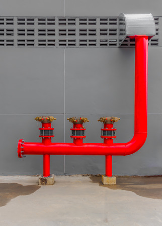 Water sprinkler and fire alarm fighting system in factory