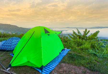 Outdoor camping Tourist attractions in the national park