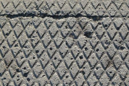 blackandwhite: sidewalk texture