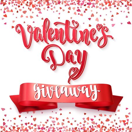 giveaway: Valentines Day Giveaway. Illustration