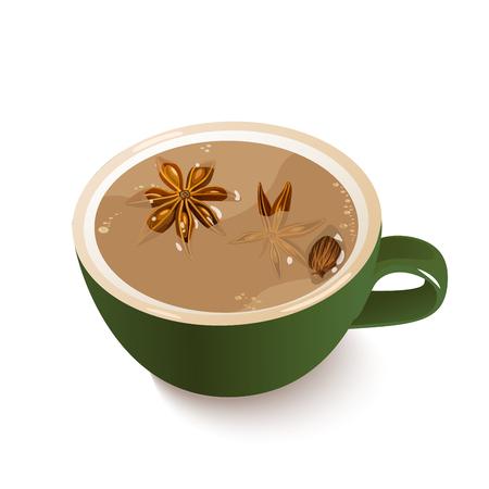 Indian Masals Tea.