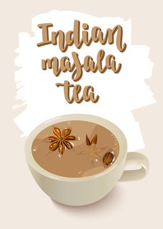 Indian Masala Tea.