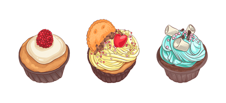 chocolate swirl: Delicious cupcakes.