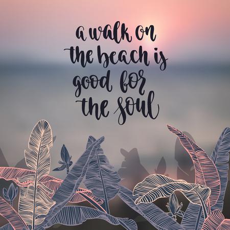 inspiration: Travel inspiration quote. Stock Photo