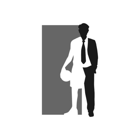 silhouette of professional basketball player vector icon design illustrations Illustration