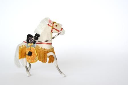 photomanipulation: Elegant white horse