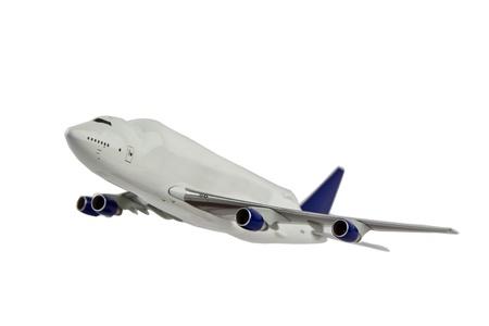 modern generation: Avi�n de carga de generaci�n moderna en vuelo simulado