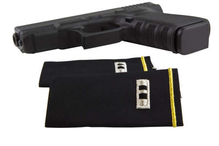 warrant: U.S. Army Chief Warrant Officer shoulder boards for Class A uniform and duty pistol