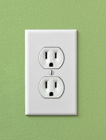 Electrical House Outlet 110 United States Stock Photo - 9477408