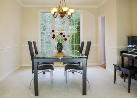 Horizontal  family formal dining room  Stock Photo - 18207037